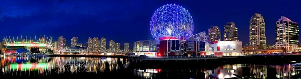 Night View of Science World