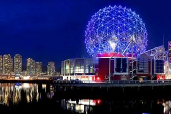 Science World & BC Place Night SW065A