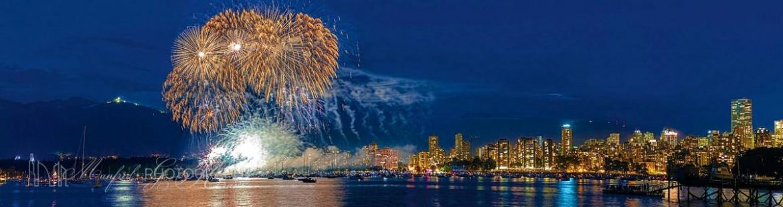 English Bay Festival Of Lights FireWorks 2013 EF161A