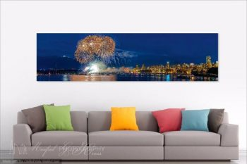 English Bay Festival Of Lights FireWorks 2013 EF161A Room View