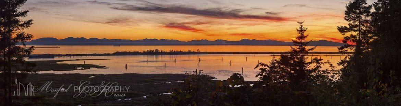Georgia Strait Sunset GS088A