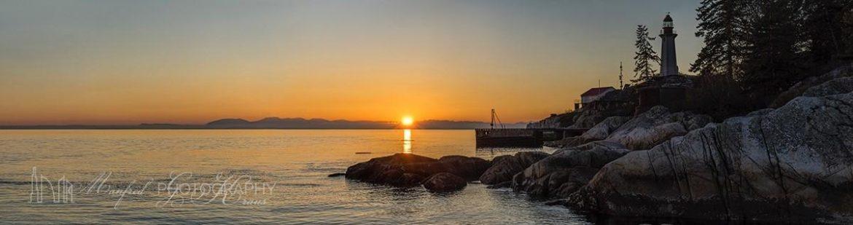 Lighthouse Sunset LS355A