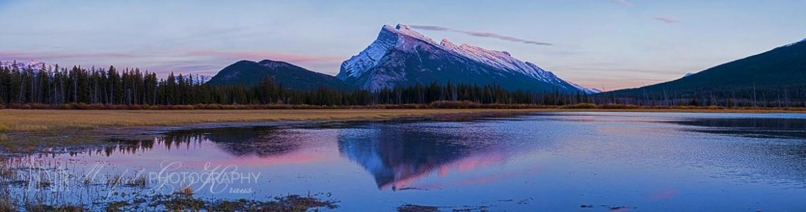 Mt Rundle Sunset MS176A
