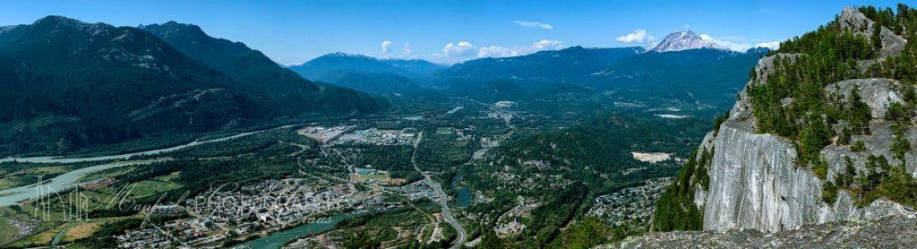 Squamish City Aerial Pano