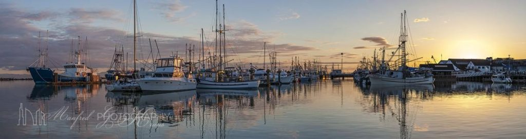 Steveston Harbour Twilight
