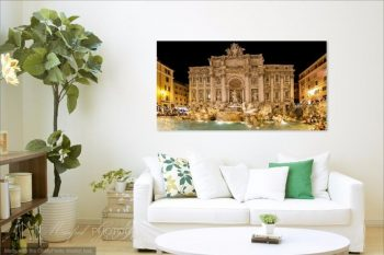 Trevi Fountain Night TF231A Room View