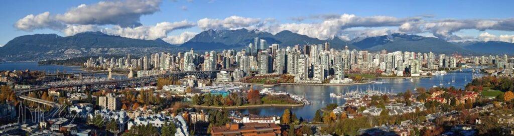 Vancouver Fall Skyline 2010