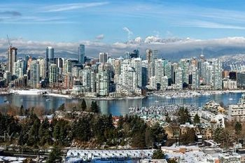 Vancouver In Snow 2017 VS395A