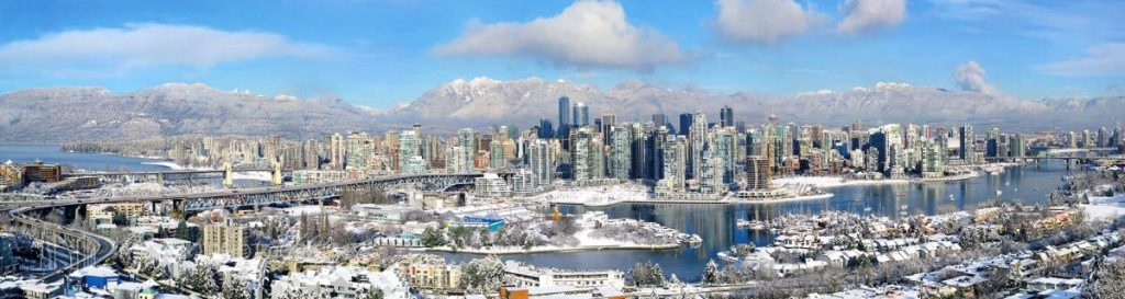 Vancouver In Snow 2009