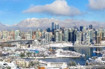 Vancouver In Snow VF001A