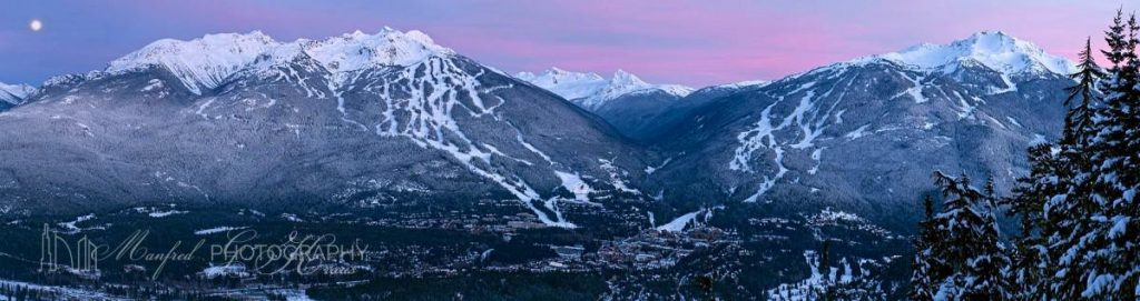 Whistler Blackcomb Valley Dusk