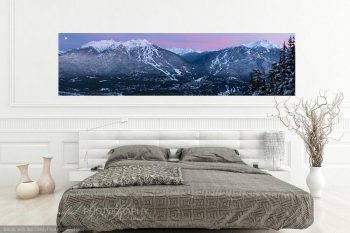 Whistler Blackcomb Valley Dusk WB076A Room View