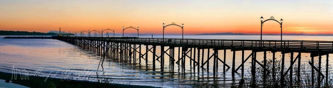 White Rock Pier Sunset WS227A