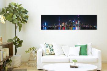Shanghai Skyline View