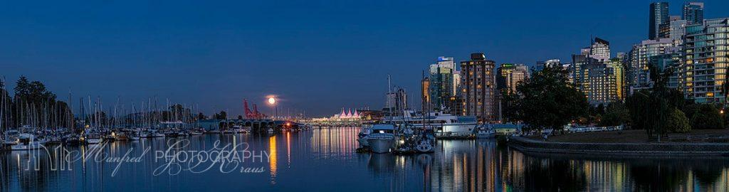 Coal Harbour Moon