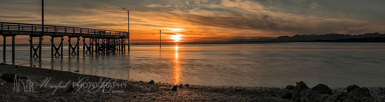 Crescent Beach Sunset CB373A
