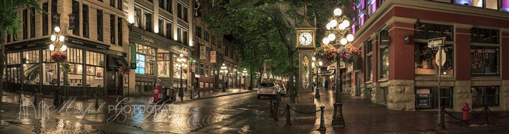 Gastown Water Street Steam Clock