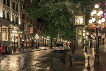 Gastown Water Street Clock GC300A