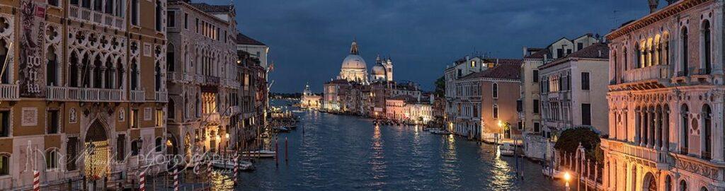 Grand Canal Venice Night