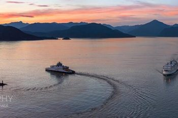 Howe Sound Sunset HS379A