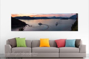 Howe Sound Sunset HS379A Room View