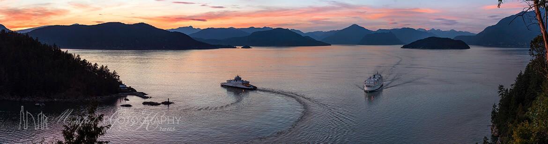 Howe Sound Sunset HS379A