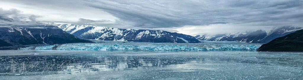 Hubbard Glacier Alaska wide