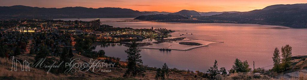 Kelowna Knox Mt Sunset