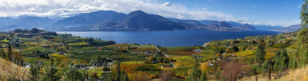 Okanagan Lake in Fall