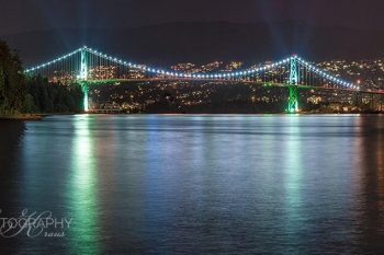 Lionsgate Bridge Night LN411A