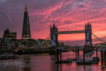 London Bridge Sunset LS311A