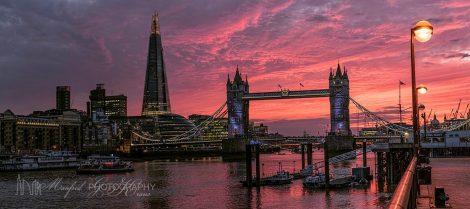 London Bridge Sunset LS311A