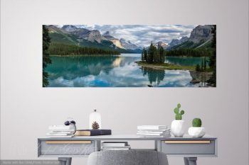 Maligne Lake Mirrored MM421A Room View