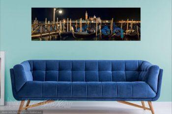 San Marco Gondolas Night 338A Room View