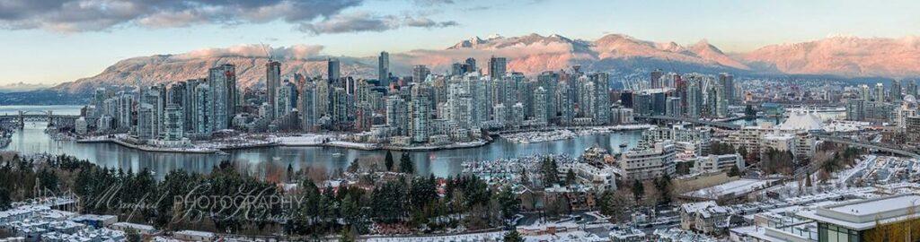 Vancouver Mountain Glow