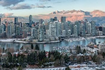 Vancouver Mountain Glow VM397A