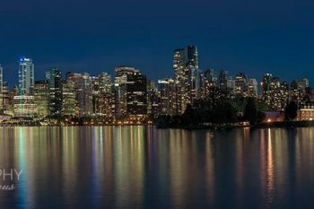 Vancouver Skyline Night 2017 VS410Ah