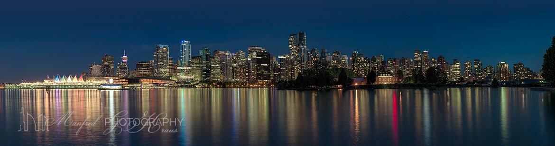 Vancouver Skyline Night 2017 VS410Ah