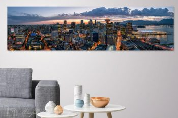 Vancouver Sunset Wide DS298A H Room View