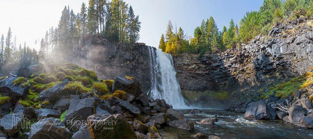 Canim Falls Panorama