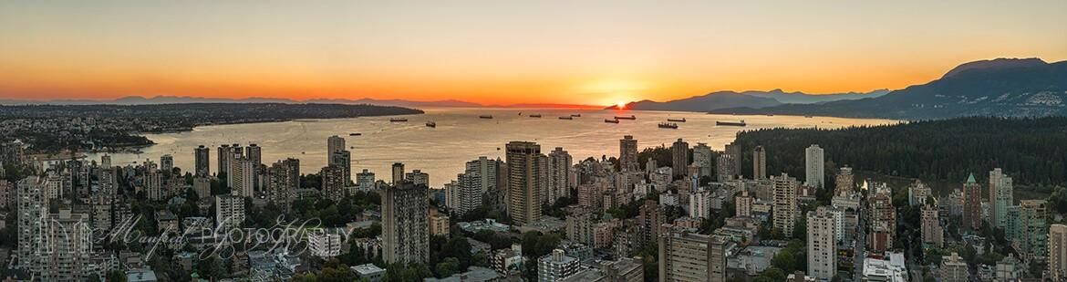 English Bay Sunset ES425A