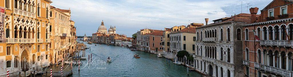 Grand Canal Venice from Accademia