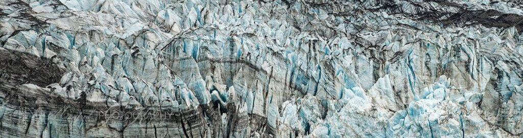 Lamplugh Glacier Detail