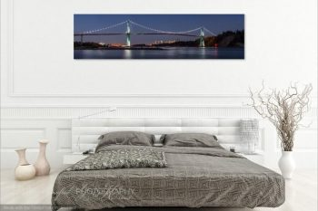Lions Gate Bridge Night LB377A Room View