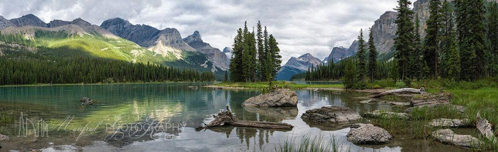 Maligne Lake Still