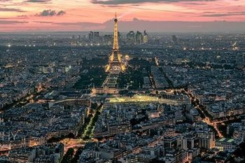 Paris Eiffel Sunset PS315A