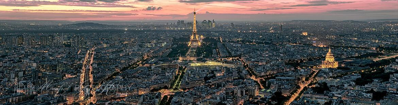 Paris Eiffel Sunset PS315A