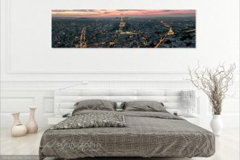 Paris Eiffel Sunset PS315A Room View