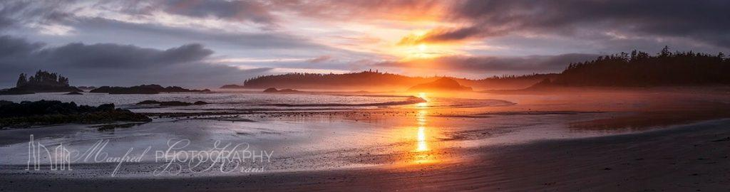 Schooner Cove Sunset Tofino