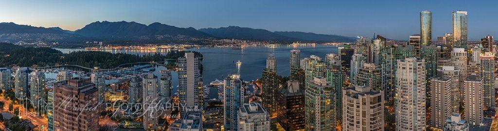 Vancouver Night Wide